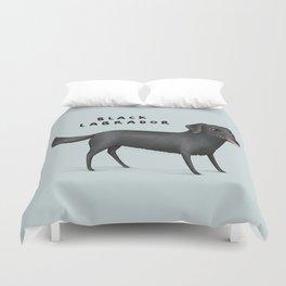 Black Labrador Duvet Cover