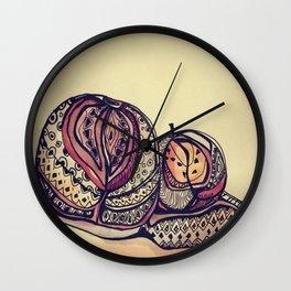 Dulce Manzana Wall Clock