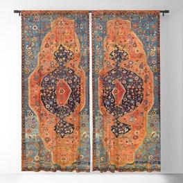 Northwest Persian Antique Carpet Print Blackout Curtain