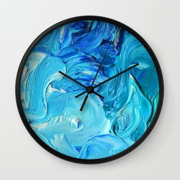 Lapeda Textile Art - 2 Wall Clock