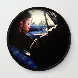 Supernatural: Impala Backseat Wall Clock