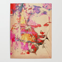 Divas - Veronica Lake Poster