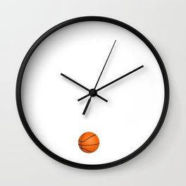 What Off Season Basketball Funny Sports T-Shirt Wall Clock