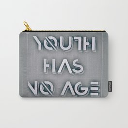 Youth has no age Pablo Picasso quote Carry-All Pouch