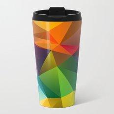 Geometric view Metal Travel Mug