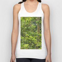 jungle Tank Tops featuring Jungle by Mauricio Santana