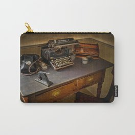 Vintage Writers Corner Carry-All Pouch