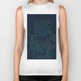 """""""Conquest of the Useless"""" by Werner Herzog Print (v. 8) Biker Tank"""