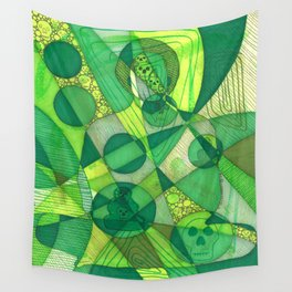 Meditator #11 Wall Tapestry