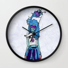 Alien Influencer Wall Clock