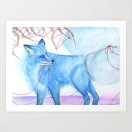 Karma Fox Art Print