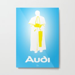 I'm Out (Pope) Metal Print