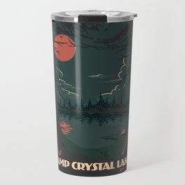 Visit Camp Crystal Lake Travel Mug