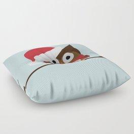 Christmas Owl Floor Pillow