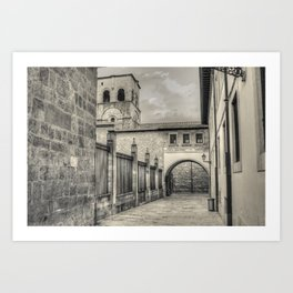 Oviedo memories #4 Art Print