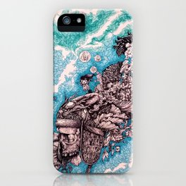 For whom the bell tolls iPhone Case
