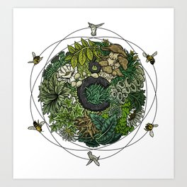 Element of Life Art Print
