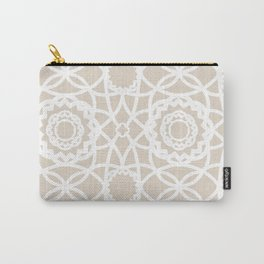 Palm Springs Macrame Lattice Lace Carry-All Pouch