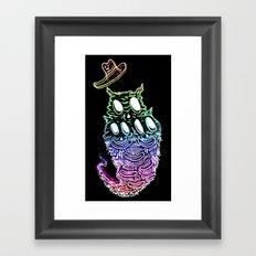 Crunchfingers 2 Framed Art Print