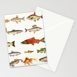 Fishing Line Stationery Cards
