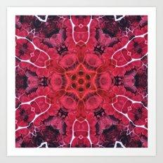 Flow Kaleidoscope 1 Art Print