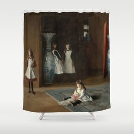 The Daughters of Edward Darley Boit by John Singer Sargent (1882) Shower Curtain