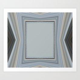 Brown and Grey Tones of Eucalyptus 2  Art Print