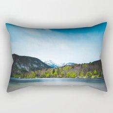 Lake Bohinj with Alps in Slovenia Rectangular Pillow