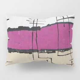 Black Rainbow Pillow Sham