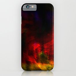 Concept abstract : Hot beats iPhone Case