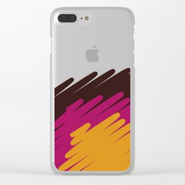 sole mio Clear iPhone Case