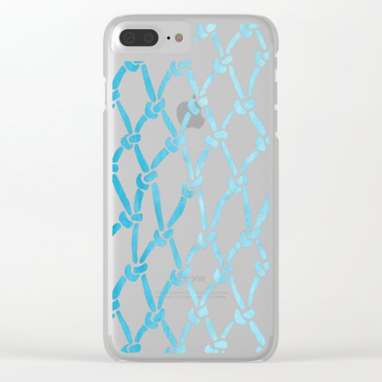Net Water Clear iPhone Case