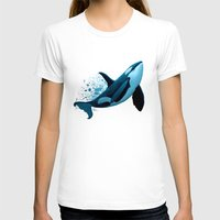 orca T-shirts featuring The Dreamer  ~ Orca ~ Killer Whale by Amber Marine