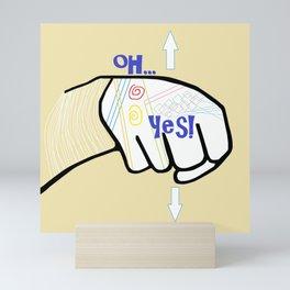 ASL Oh YES! Mini Art Print