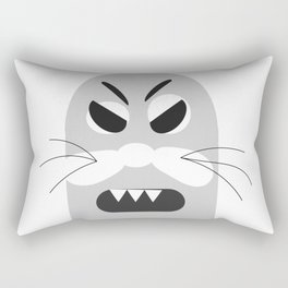 Binky the Angry Sea Lion Rectangular Pillow