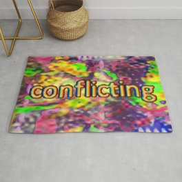 Conflicting Rug
