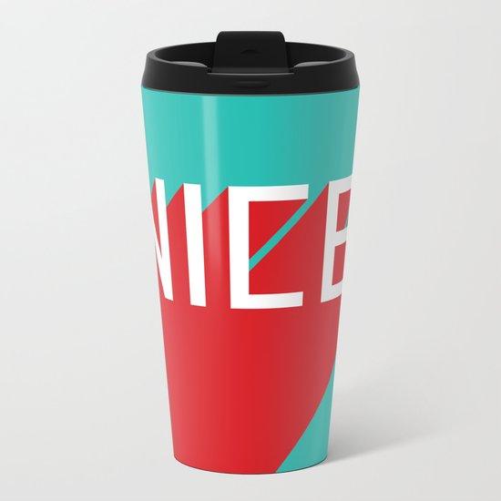 NICE Metal Travel Mug