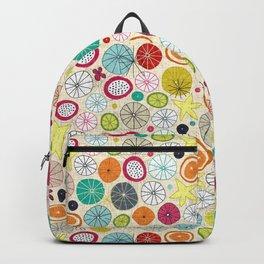 umbrellas ivory Backpack