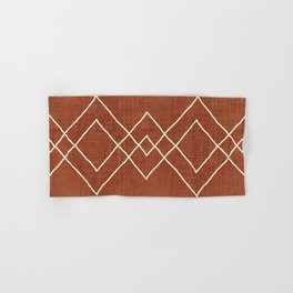 Nudo in Rust Hand & Bath Towel