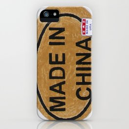 Made In China iPhone Case
