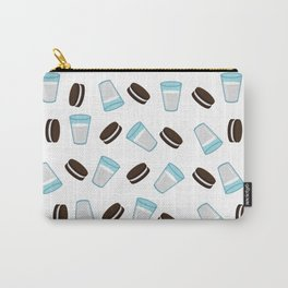 Oreo and milk pattern Carry-All Pouch