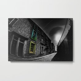 Colour in the Alley Metal Print