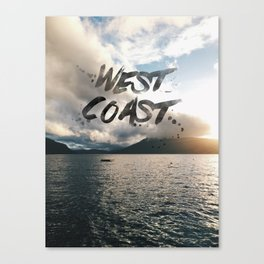 West Coast Beauty Canvas Print
