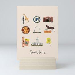 Saint Louis Mini Art Print