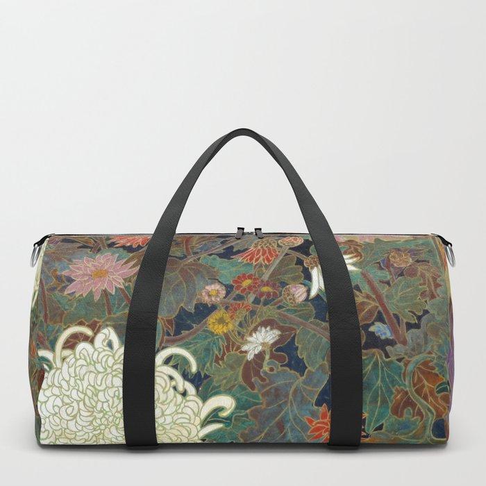 flower【Japanese painting】 Duffle Bag