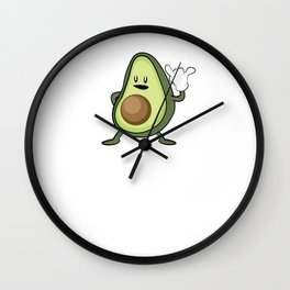 Rock Out with Your Guac Out – Funny Vegan Gift Wall Clock