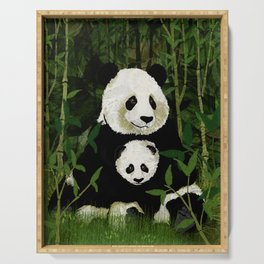 pandas Serving Tray