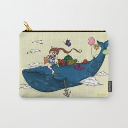 Whale girl Carry-All Pouch