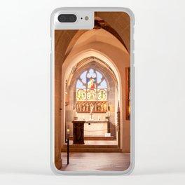 Diem Monasterium interiorem Clear iPhone Case