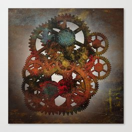 Industrial Rust Canvas Print